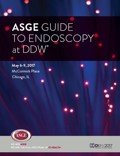 ASGE DDW Annual Meeting Book Design