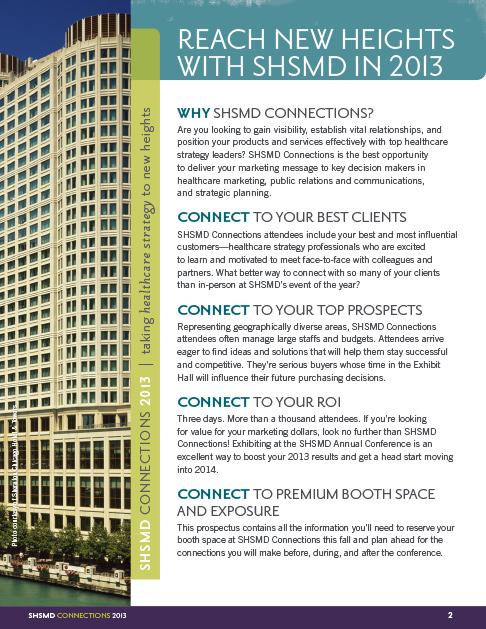 SHSMD Conference Brochure Templates Hughes designcommunications – Conference Brochure Template
