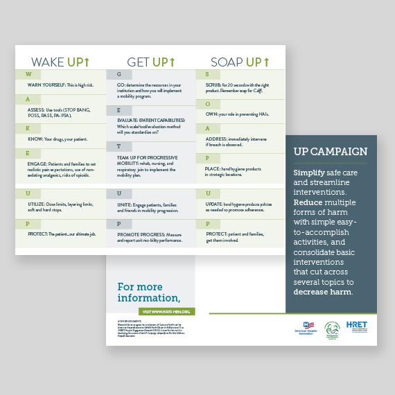 HEN 2.0 UP Campaign brochure