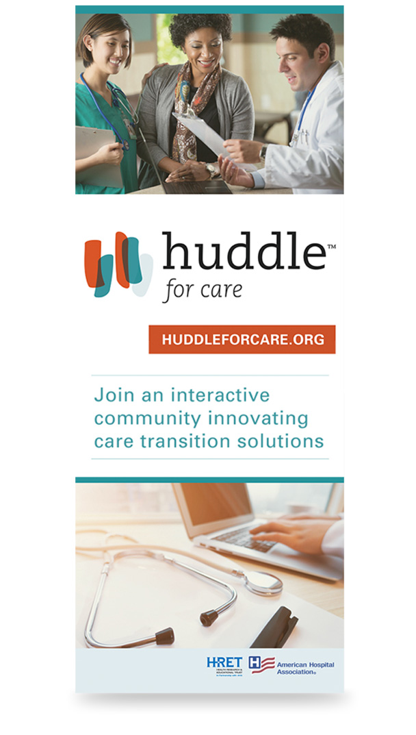 huddle for care exhibit design