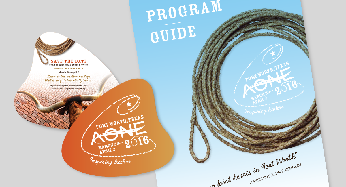 AONE 2016 Conference Branding