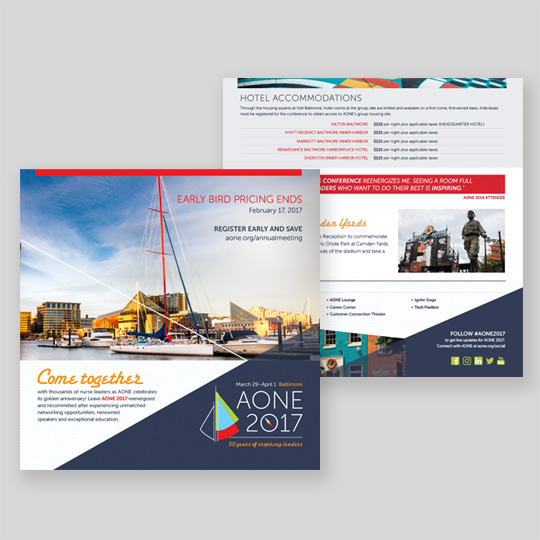 Registration Kickoff Brochure Design
