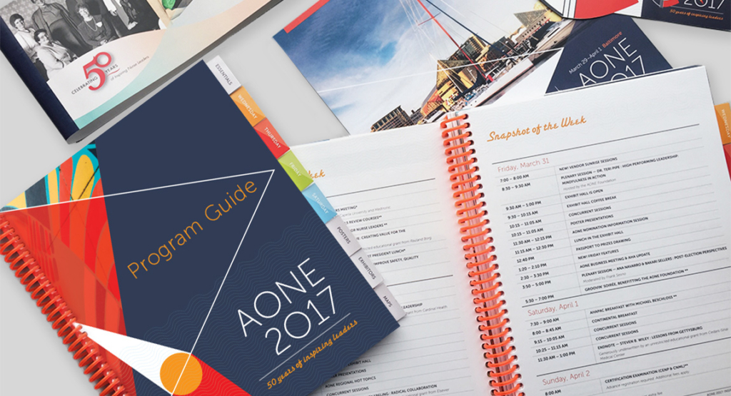AONE 2017 Annual Conference Branding Design