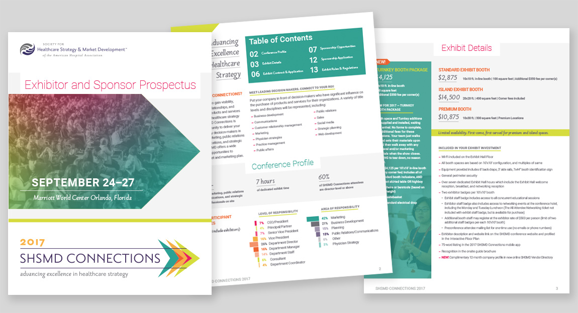 SHSMD Connections 2017 Prospectus