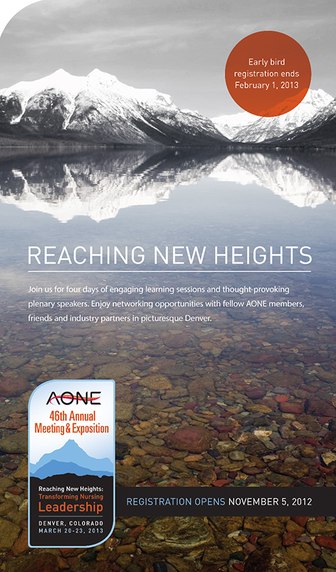 AONE 2013 Annual Conference Mailer
