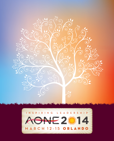 AONE 2014 Conference Postcard Lenticular Design