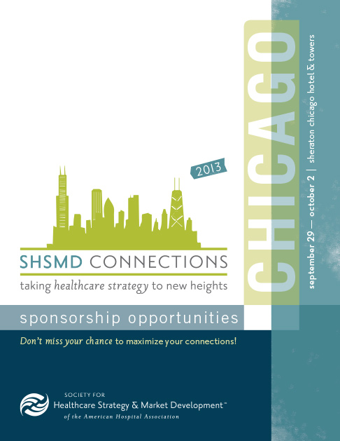 Shsmd 2013 conference branding graphic design and branding for Sponsorship brochure template