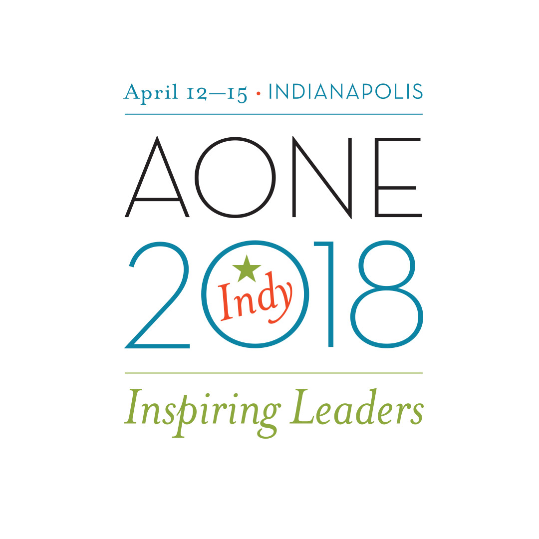 AONE 2018 Annual Meeting Logo Designed by Hughes Design