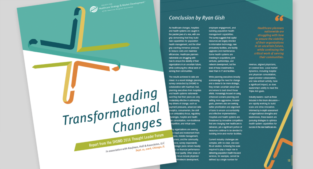 SHSMD Thought Leader Forum Report Design