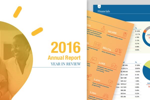 AgeOptions Annual Report Design