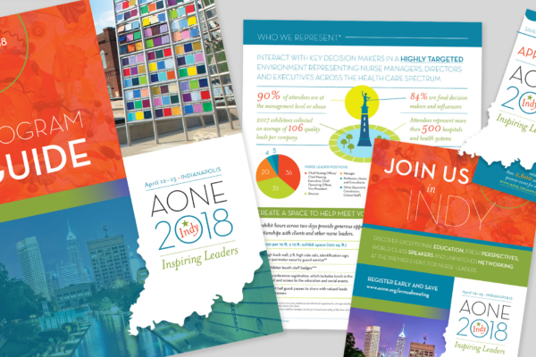 Conference Branding for AONE 2018 Annual Meeting