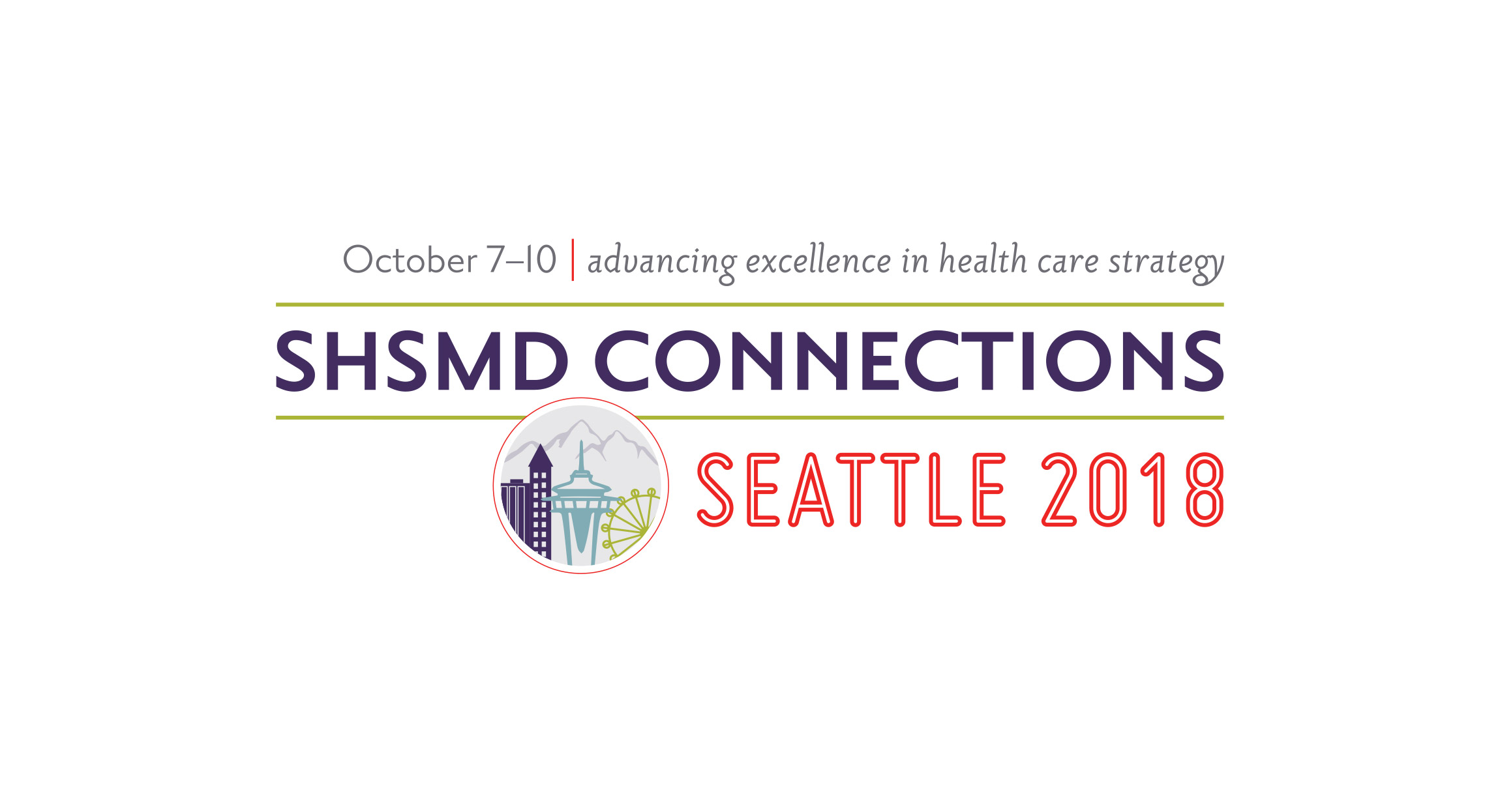 SHSMD Connections 2018 Conference Branding Design by Hughes Design