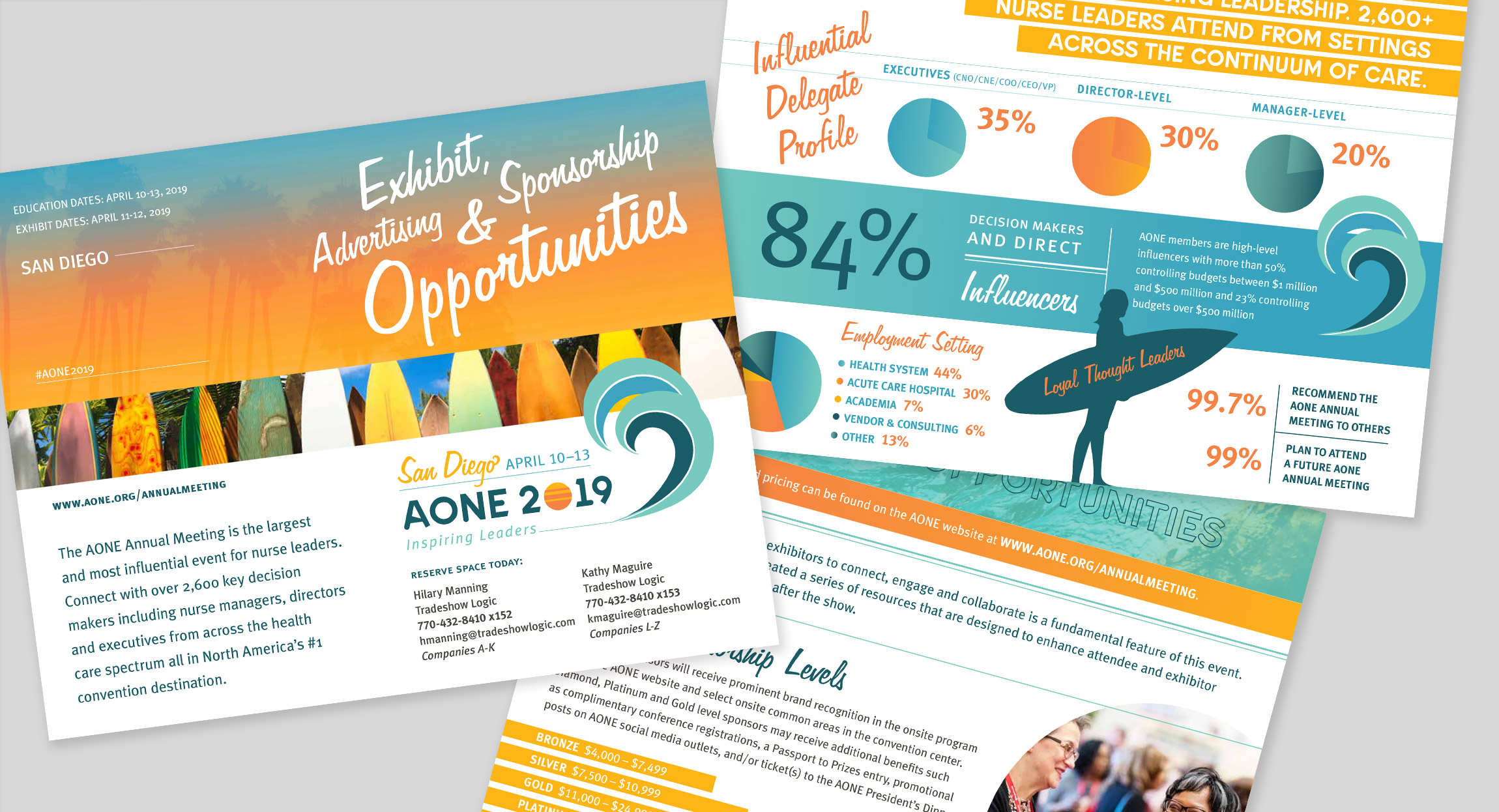 AONE 2019 Sponsor and Exhibitor Prospectus by Hughes Design