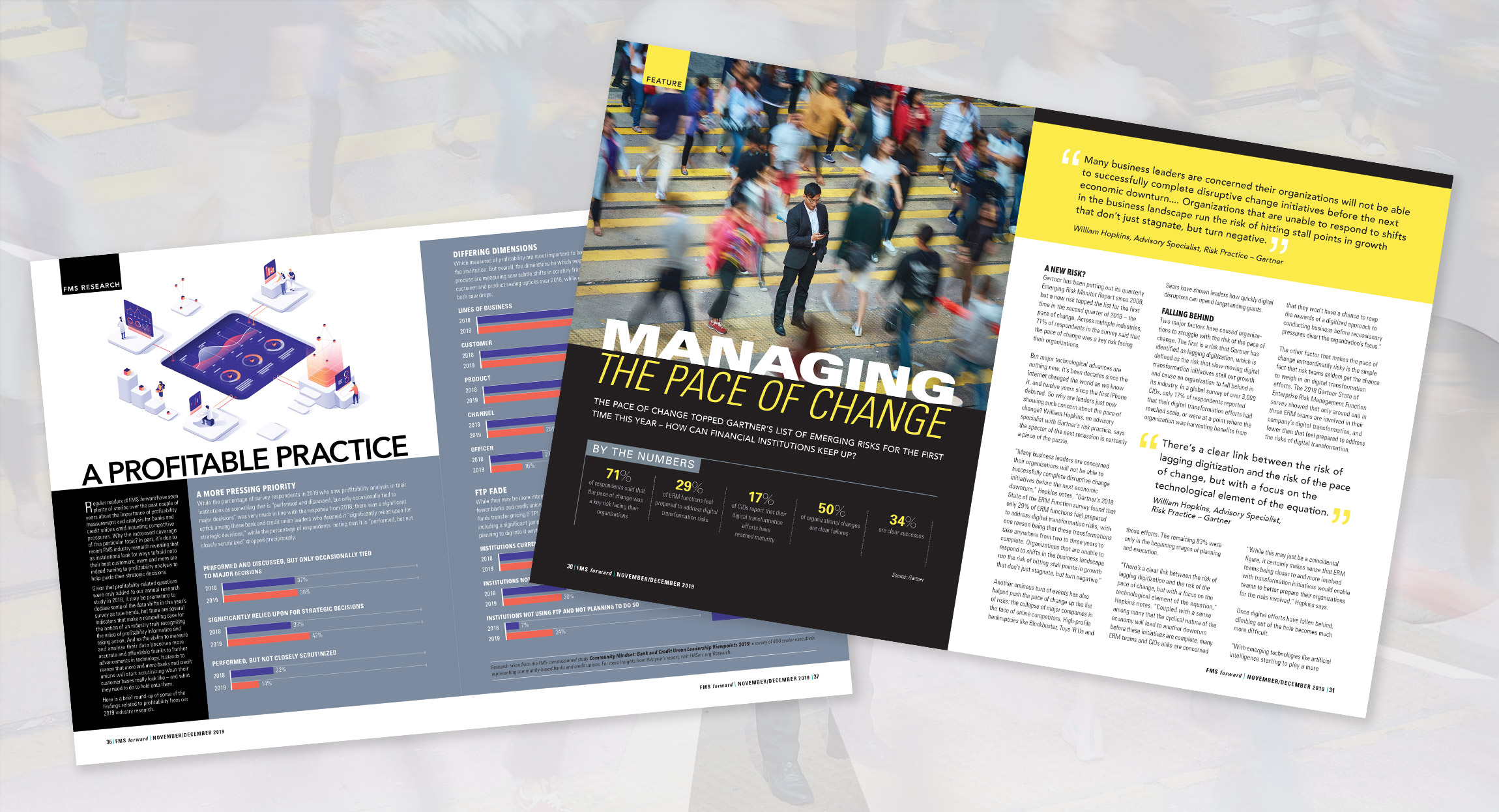 FMS Forward Magazine Design by Hughes Design | Communications