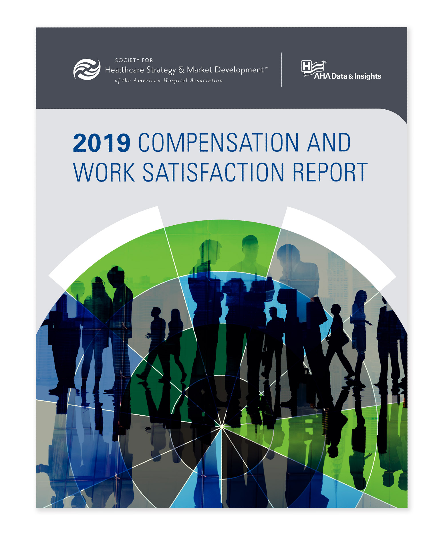 SHSMD 2019 Compensation and Benefits Report Design by Hughes Design