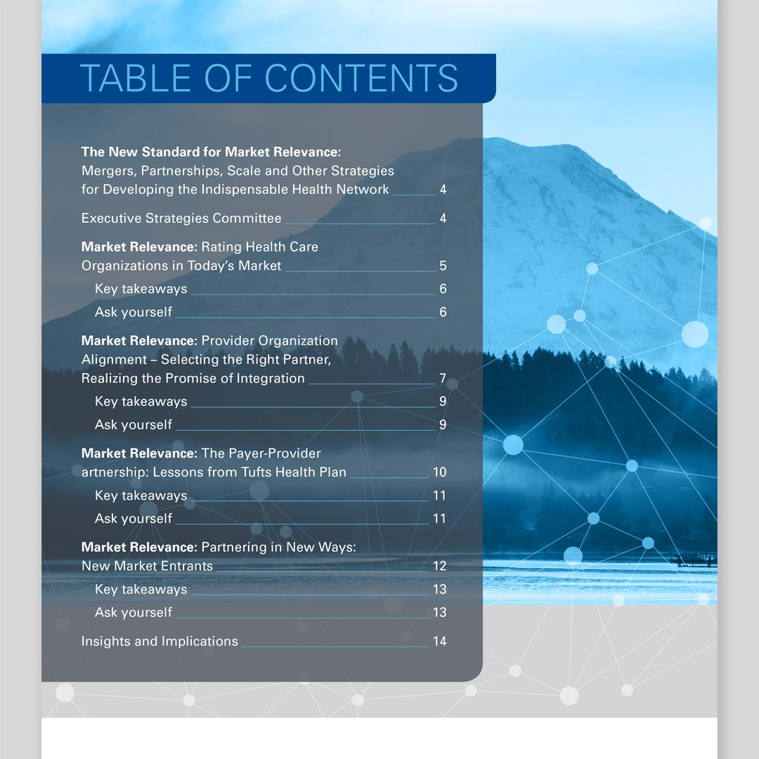 SHSMD 2018 Executive Dialog Report Design by Hughes Design