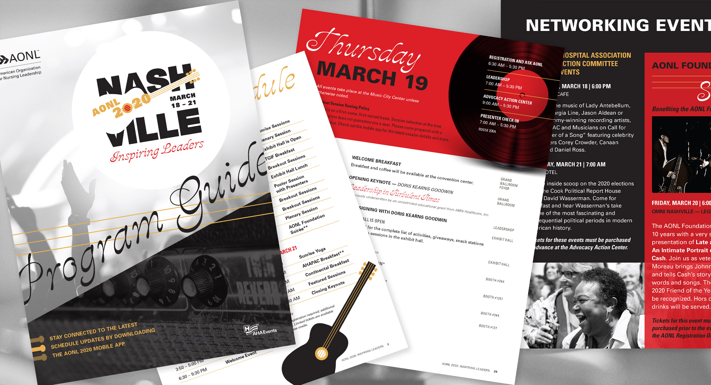 AONL 2020 Annual Conference Program Guide Design and Layout