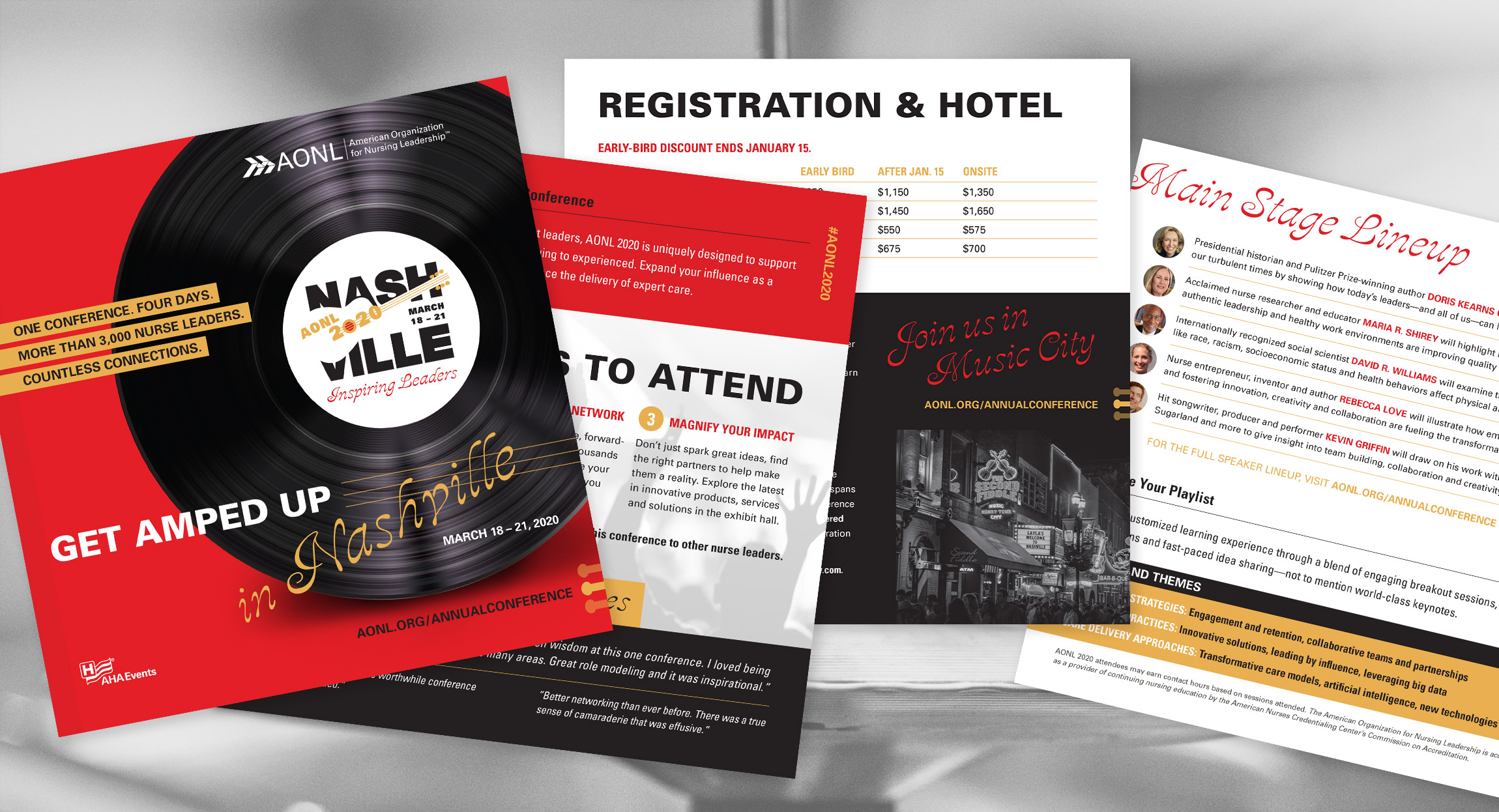 AONL 2020 Annual Conference Brochure Design