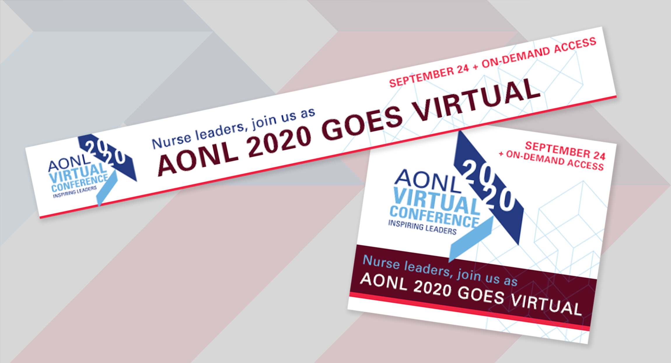 AONL2020 Virtual Conference Banner Ad Design