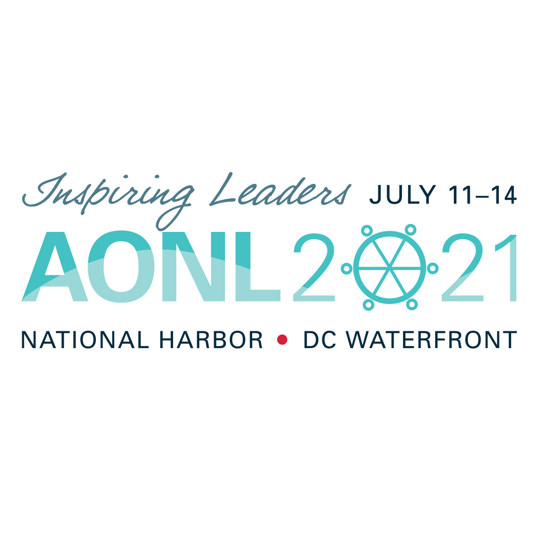 AONL 2021 Annual Conference Logo design by Hughes design communications