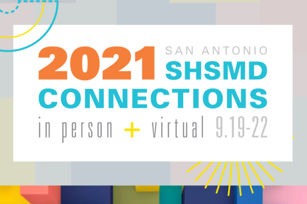SHSMD 2021 Annual Conference Branding by Hughes Design