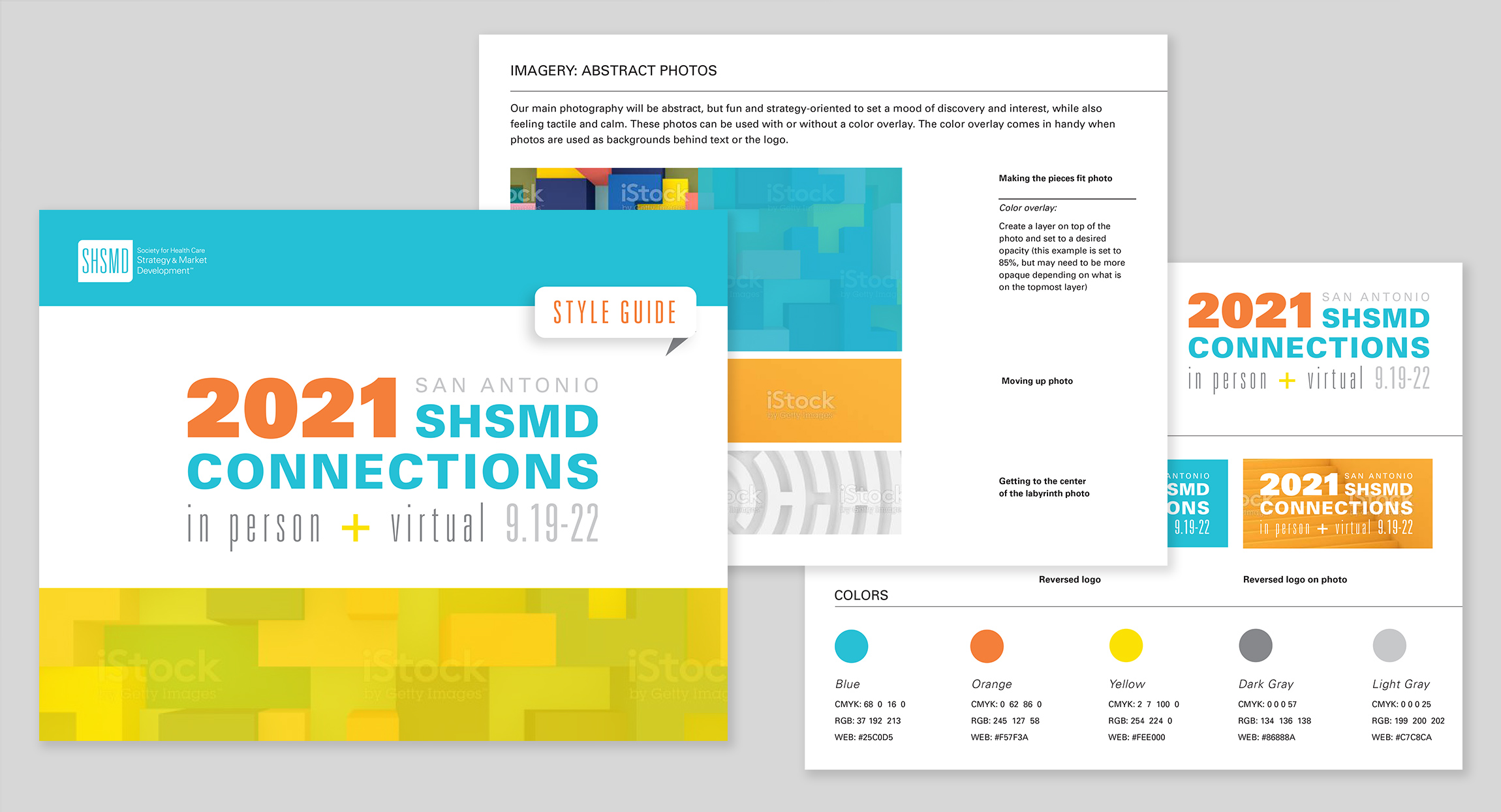 SHSMD 2021 Annual Conference Style Guide by Hughes Design